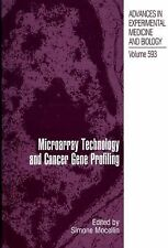 Advances in Experimental Medicine and Biology Ser.: Microarray Technology and...