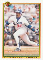 Eddie Murray 1990 Bowman #101 Los Angeles Dodgers baseball card