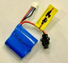 7.4V 600mAh SM-4P Battery For RC Boat Battery Drone Car Electric Toys RC Battery