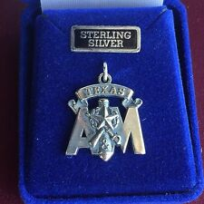 Jewelry Sterling Silver Charm Aggie Corps of Cadets Texas A&M University TAMU