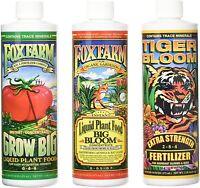 Fox Farm Soil Nutrients, Big Bloom, Grow Big, Tiger Bloom, All Varieties