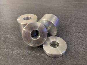 Distanzhülse Alu M8 24,5mm x 9mm Hülse Buchse Abstandhülse Ring Metallhülse - DE