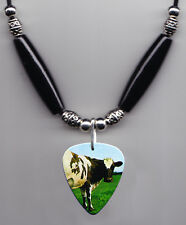 Pink Floyd Atom Heart Mother Guitar Pick Necklace