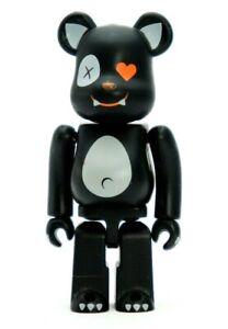 Medicom Bearbrick Be@rbrick 100% Series 12 Roen Black Chase Art Toy Figure