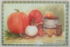 New Fall Pumpkins Leaves Owl Autumn Glass Kitchen Cutting Board Thanksgiving
