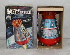 Space Ship 1969 Boxed Horikawa Super Capsule Apollo Battery Op