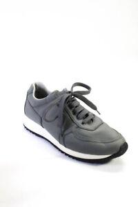 Prada Womens Low Chunky Sneakers Gray Size 39 6