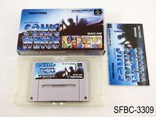 Complete Sonic Wings Super Famicom Japanese Import SFC JP Japan Aero US Seller C