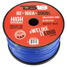 16 Gauge 500' Feet Blue Primary Remote Wire 12V Auto Wiring Cable AWG Ultra Flex