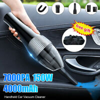 2 in 1 Vacuum Cleaner Car Cordless Handheld Rechargeable Portable Wet & Dr