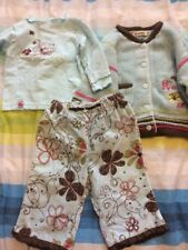 Baby Girl 3 Piece Clothes 6 Months