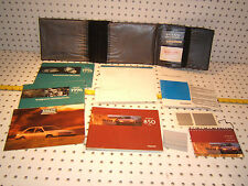 Volvo 1996 850 Owners's OEM 1 set of 12 Manuals/ Papers Volvo Black 1 Pouch