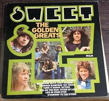Sweet - Sweet's Golden Greats LP Nr Mint first UK pressing Rare Glam B Connolly.