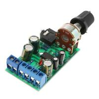 TDA2822 DC 3V-12V 5V 3.5mm Stereo AMP Module Audio Power Amplifier Board