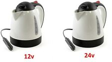 TRUCKERS KETTLE 12V 24V 0.8ltr 150w WATER HEATER LORRY TRAVEL KETTLE TRACTOR