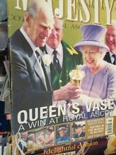 Majesty Magazine V33 #8-Queen At Ascot & North Ireland/Royals At Olympic Gam