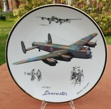 "Royal Doulton  ""Legends of the Sky - Avro Lancaster""   10 3/8"" Plate"