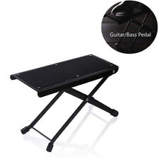 Height-adjustable Folding Guitar Foot Rest Pedal Classical Pedal Anti-slip W