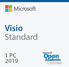 MICROSOFT VISIO STANDARD 2019 PRODUCT KEY AND DOWNLOAD LINK FOR 1 PC