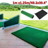 "Backyard Golf Mat 49x39"" Pro Residential Practice Golf Turf Mat With Foam Base"