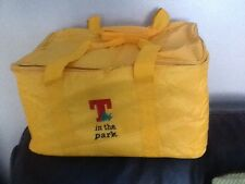 LARGE INSULATED BRANDED  T IN THE PARK COOL BAG.
