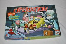 Milton Bradly sponge Bob Squarepants Operation Skill Game Test.