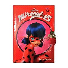 Diario segreto Lady Bug Miraculous CON LUCCHETTO 19x14 cm