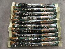 10 Cyalume ChemLight Military Grade Chemical Light Sticks, Orange
