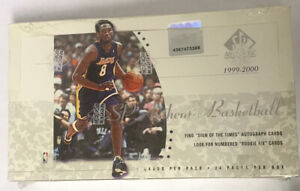 1999-00 Upper Deck SP Authentic Basketball Hobby Box Factory Sealed 24 Pack