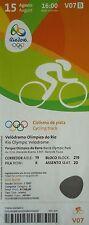 TICKET 15.8.2016 Olympia Rio Radsport Cycling Track # V07