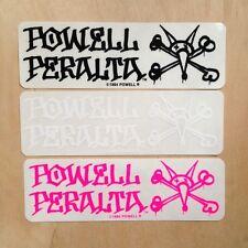 Powell Peralta vato rat skateboard sticker SK8 vintage NOS bones Vision Santa