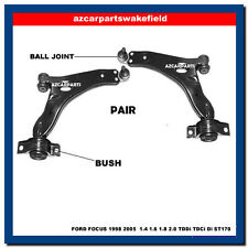 FORD FOCUS 1.4 1.6 1.8 2.0 MK1 1998-2005 FRONT LOWER SUSPENSION WISHBONE ARMS