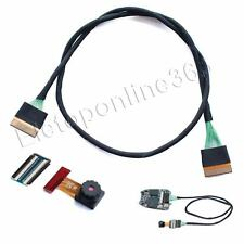"New 15""(38cm) Extension Cable and Lens B for 720P #16 Car Key Pocket Camcorder"