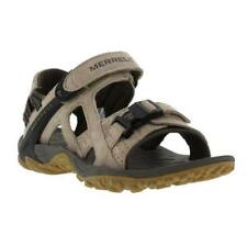 Merrell Kahuna III Mens Black Brown Leather Walking Sandals Shoes Size UK 7-14