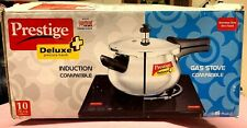 Prestige Deluxe Plus Stainless Steel Mini Handi Pressure Cooker 3.3 L +Induction