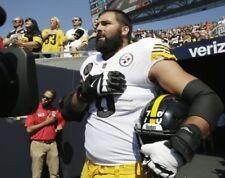 ALEJANDRO VILLANUEVA 8X10 PHOTO PITTSBURGH STEELERS NFL FOOTBALL NATIONAL ANTHEM