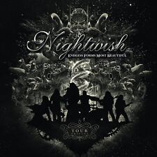 NIGHTWISH - ENDLESS FORMS MOST BEAUTIFUL (TOUR EDITION)  CD + DVD NEW!