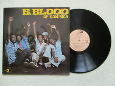 """LP 33T B. BLOOD OF DOMINICA """"B.Blood of dominica"""" 3A PRODUCTION 3A 075 FRANCE §"""