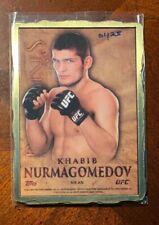 Khabib Nurmagomedov 2014 Topps UFC Bloodlines GOLD engot 1/25 1/1 rookie ingot
