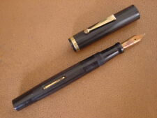 Vintage Byers and Hayes Fountain Pen ... Black Lined Hard Rubber