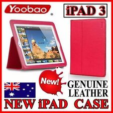 YOOBAO Genuine Leather Executive ROSE Case 4 New iPad 3(Premum Smart Pouch Cover
