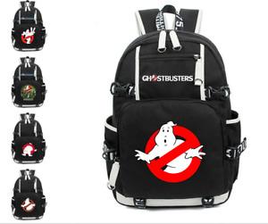 Ghostbusters Backpack Teenager School Bag Boys Girls Shoulder Mochila Travel bag