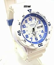 Casio Standard Mens White 100m Water Diver Style Watch Mrw-200hc-7b2v