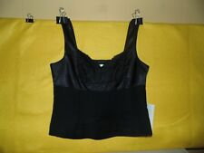 NWT's Bloomingdale's Black Camisole w/ Lace: Size 12 Petite