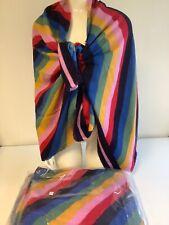Damen Schals Tücher glänzend Stola Schultertuch Tuch Überwurf Kopftuch 160cm