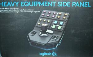 Logitech  Sidepanel Side Panel für Farmsimulator ohne OVP