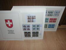 Sammlung CH Schweiz VIERERBLOCKS gestempelt 1983-1995 komplett Lindner T (52110)