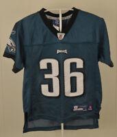Reebok Philadelphia Eagles NFL Jersey #36 Brian Westbrook Kids Medium (5-6)