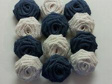 Burlap Flowers (By The Dozen)
