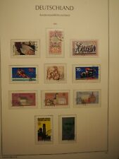 BRD Duitsland Jaargang 1978 alle postzegels compleet gestempeld